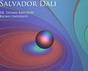 Thomas Banchoff, a Brown University geometer, is presenting the Daniel Bartlett Memorial Lecture on March 22.
