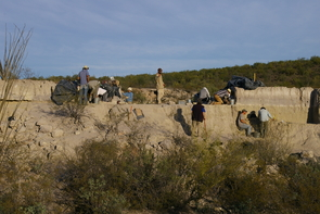 "Archaeologists dubbed the site El Fin del Mundo, which means ""the end of the world,"" because of its remote location. (Photo: Vance Holliday)"
