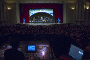 Centennial Hall was at capacity again Monday for the College of Science lecture series. (Photo: Bob Demers/UANews)
