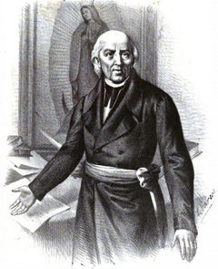 Image of 19th century Mexican revolutionary Miguel Hidalgo. (Image via Wikipedia)