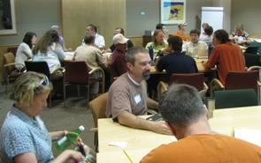 The institute at the UA drew 25 college and university professors from across the United States.