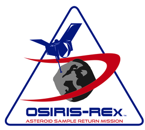 The official OSIRIS-REx logo has a new look.
