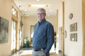 Paul Brierley, executive director of the Yuma Center of Excellence for Desert Agriculture (Photo: Carl Schultz)