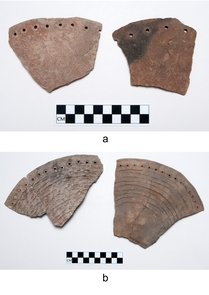 Examples of perforated plates from Kinishba. (