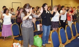 A previous SAC conference featured a Tai Chi workshop. This year's conference theme focuses on wellness.