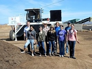 The UA student-led Compost Cats organization is expanding composting efforts, both on and off campus. (Photo courtesy of Compost Cats)