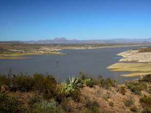 The U.S. Department of the Interior's Bureau of Reclamation studies reservoirs such as the San Carlos Reservoir, as part of its mission to manage, develop and protect water and related resources in an environmentally and economically sound manner. (Photo: Annalise Boyer)
