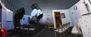 The 32-inch Sculman Telescope at Mount Lemmon SkyCenter is used for public programs but can be controlled remotely from anywhere in the world. (Photo: Adam Block/SkyCenter)