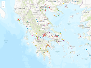 The Web Atlas of Ceramic Kilns in Ancient Greece maps 600 kiln locations.