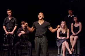 Musical theatre students sing and act in the audition of their lives during the UA Showcase of Talent in January 2011.