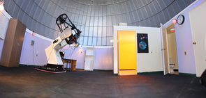 The 24-inch telescope was installed in the newly remodeled dome at the Mt Lemmon. SkyCenter in April 2008.