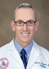 Marvin Slepian is a cardiologist at the UA Sarver Heart Center. (Photo by UA Biomedical Communications)