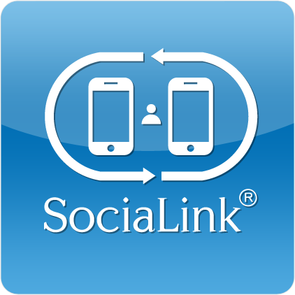 SociaLink app provides users with the option to choose which social media sites they want to connect on. (Photo courtesy of Hector Rosales)