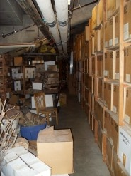 Much of the UA's tree-ring collection is stored in Arizona Stadium.
