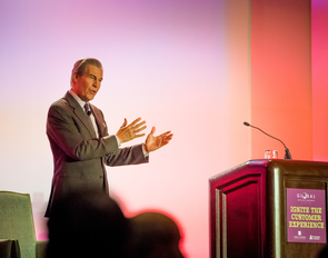 UA alumnus Terry J. Lundgren, president and CEO of Macy's, was among the speakers at the UA's 18th annual Global Retailing Conference. (Image: Simboli Photography)
