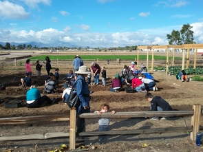 Tucson Village Farm offers year-round, hands-on programs for youth of all ages. The farm, at 4210 N. Campbell Ave., serves as a safe urban location for youth to be outdoors and engage in physical activity while contributing to and participating in local food production, preparation and consumption. (Photo: Tucson Village Farm)
