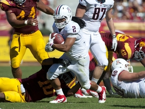 Senior running back Keola Antolin (Photo courtesy of Arizona Athletics)