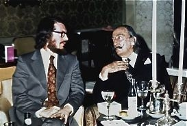Thomas Banchoff with Salvador Dali