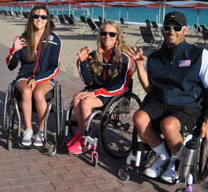 Dana Mathewson, Kaitlyn Verfuerth and David Wagner. (Photo courtesy of Disability Resource Center)
