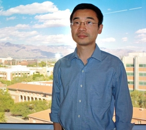 UA computer scientist Beichuan Zhang was part of an invitation-only meeting of experts with the National Science Foundation that has led to major initiatives to evaluate how to push for a major evolution for the Internet. (Photo credit: Beatriz Verdugo / UANews)