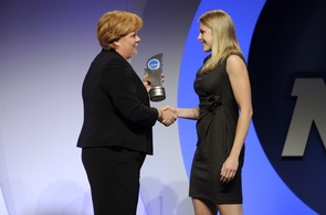 UA swimmer Justine Schluntz has been named the 20th NCAA Woman of the Year.
