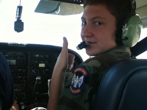 Spartz took the co-pilot's seat during his stint in the Arizona Wing of the Civil Air Patrol, the official civilian auxiliary of the U.S. Air Force.