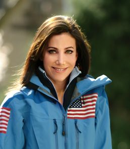 Levine, a UArizona alumna, served as team captain for the first American Women's Everest Expedition.
