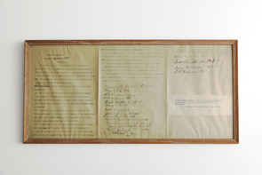 "The Alumni Association constitution, written in 1897, states: ""In order to promote the interests of the University, to secure unity among its graduates and to foster an attachment to our Alma Mater, we do hereby constitute ourselves as an association to be known as the Alumni Association of the University of Arizona."""