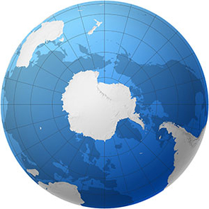 Antarctica is surrounded by the Southern Ocean. (Photo Credit: SOCCOM)