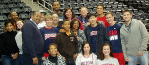 Members of the Atlanta chapter host a range of events around networking, education and athletics.