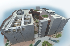 Rendering of bird's-eye view of ENR2. (Image: GLHN/Richärd+Bauer)