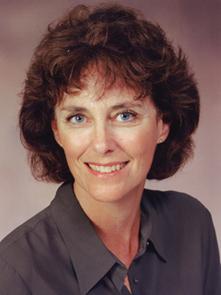 Vicki Chandler. Photo by Margaret Hartshorn,  Biomedical Communications.