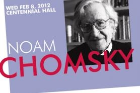 Renowned intellectual Noam Chomsky will give a public lecture on higher education at Centennial Hall.