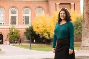 Leah Crowder is one of 32 recently named Rhodes scholars and the only one from an Arizona university. (Photo: Chris Richards/UA Alumni Association)