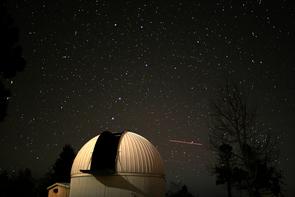 The Catalina Sky Survey 60-inch telescope atop Mt. Lemmon. (Courtesy: Catalina Sky Survey)