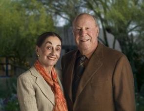 UA Almuni Achievement Award honorees Donald and Joan Diamond.