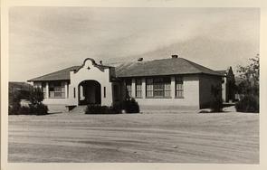 The Dunbar School in the 1950s. (Courtesy of the Dunbar Coalition)