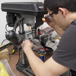 UA mechanical and electrical engineering senior Edwardo Moreno will spend this summer building and testing underwater robots he designed for use in underwater exploration or national defense.