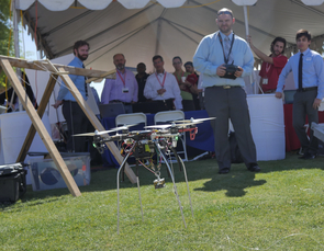 Drones, drones and more drones will be seen at Design Day.