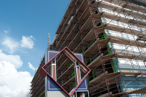The former Four Points Sheraton Hotel is being converted into the Aloft University Tucson hotel.