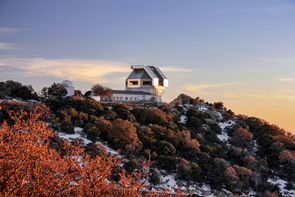 The WIYN Telescope atop Kitt Peak (Photo: NSF's National Optical-Infrared Astronomy Research Laboratory/KPNO/NSF/AURA)