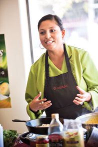Cooking classes at the Garden Kitchen focus on how to make inexpensive, healthy and tasty meals.