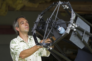 Olivier Guyon identified the theoretical limit on the performance of planet-hunting telescopes. Based on this analysis and computational models, he compared the expected performance of several methods to identify their relative strengths and shortcomings. (Photo: MacArthur Foundation)