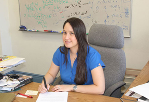 Guzin Bayraksan, assistant professor in the UA department of systems and industrial engineering and winner of both an NSF Career Award and the 2012 Five Star Teaching Award.