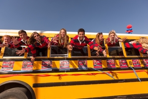 Homecoming festivities include a parade, bonfire and pep rally, tailgate party, and much more.