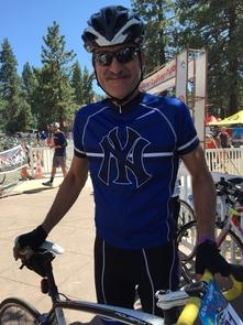 David Ortiz in 2016 at Tour de Big Bear in California. (Courtesy of David Ortiz)