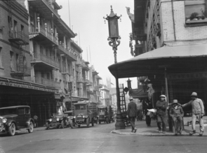 As the bubonic plague spread in the early 1900s, San Francisco's Chinatown was the subject of a quarantine order that was later struck down as it failed to treat everyone equally under the law. (Photo courtesy of the Genthe photograph collection, Library of Congress, Prints and Photographs Division)