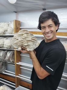 Jorge Sepulveda is Desert Pearl Mushrooms' chief executive officer and founder.