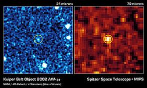 Kuiper Belt Object 2002 AW197 (Image: NASA/JPL/John Stansberry, University of Arizona)