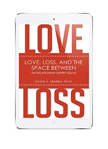 """""""Love, Loss and the Space Between: The Relationship Expert Essays"""" is available for purchase on Amazon."""